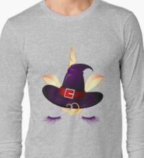 Cute Little Unicorn Witch  Long Sleeve T-Shirt