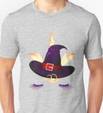 Cute Little Unicorn Witch  Unisex T-Shirt
