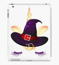 Cute Little Unicorn Witch  iPad Case/Skin