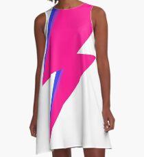 Bisexual Bowie Bolt A-Line Dress