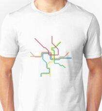 Das Viertel Slim Fit T-Shirt