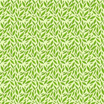 Green Tea Leaves by Pembertea