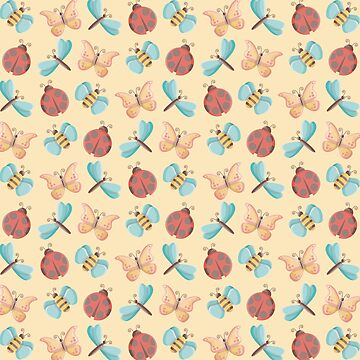 Cute Little Bugs Pattern by limengd