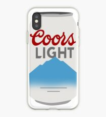 Coors Light Can iPhone Case