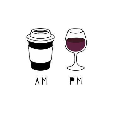 coffee and wine by elenara