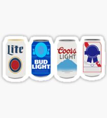 Beer Cans Sticker