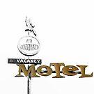 Retro American Motel 1950s by mindydidit