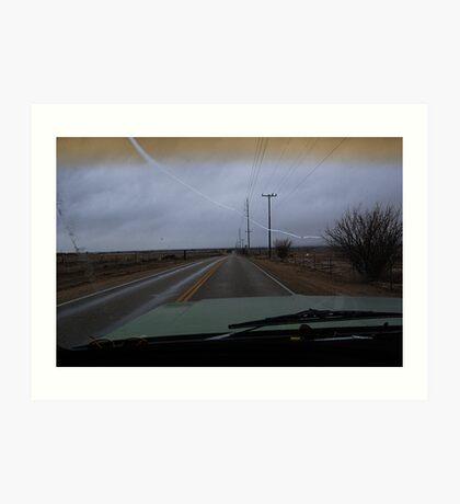 Country Roads... Take me home Art Print