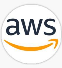 Amazon Web Services (AWS) Circle (Sticker Only) Sticker