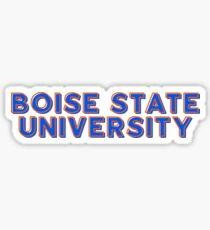 Boise State University - Style 10 Sticker