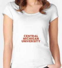 Central Michigan University - Style 10 Women's Fitted Scoop T-Shirt