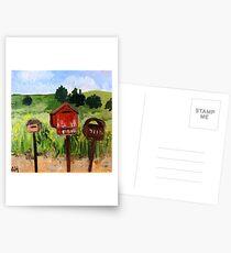 Letterboxes Postcards