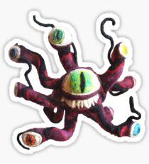 Dungeons and Dragons Beholder - (Needle Felt Art) Sticker