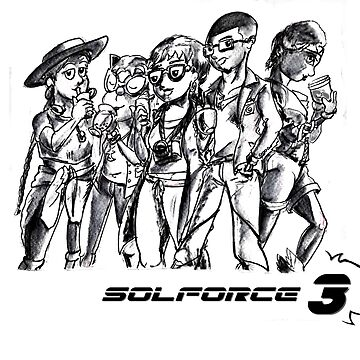 SolForce 3- The Vets by ceruleanmocha