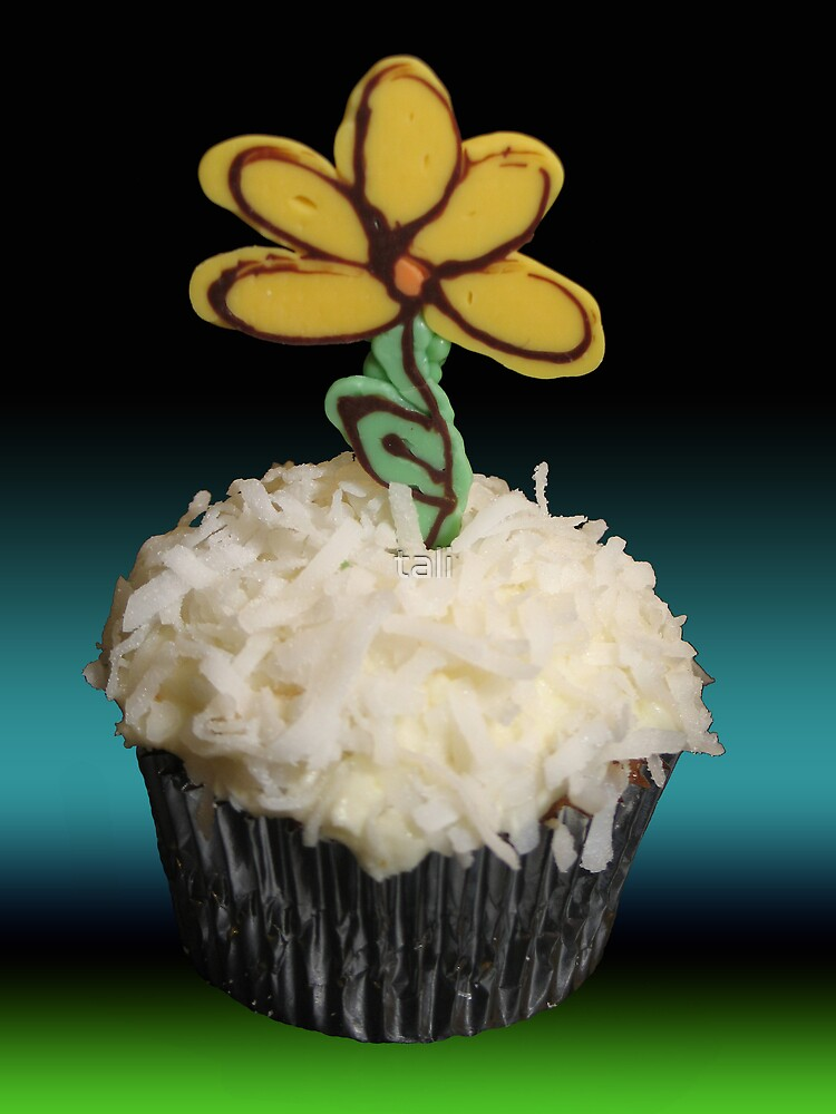 Flower Cupcake by tali