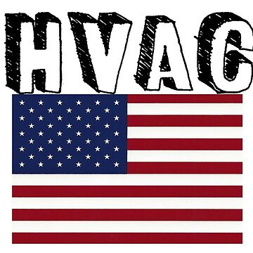 HVAC American Flag Air Conditioning  by 8675309