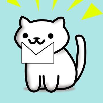 Mail Cat by jomzojeda