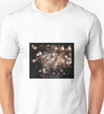 Go Out With A Bang Fireworks Display T-Shirt