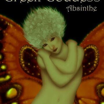 Green Goddess Absinthe by LizaPhoenix