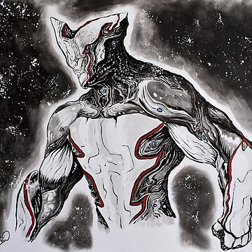 Warframe Excalibur - Painting by thewisecarrot