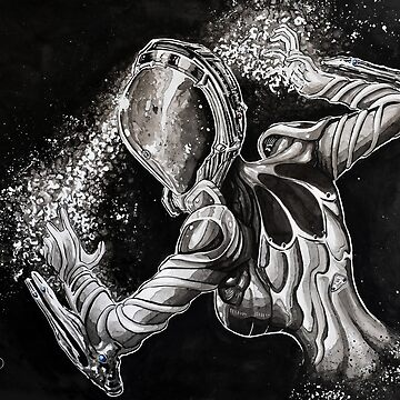 Warframe Mag - Painting by thewisecarrot