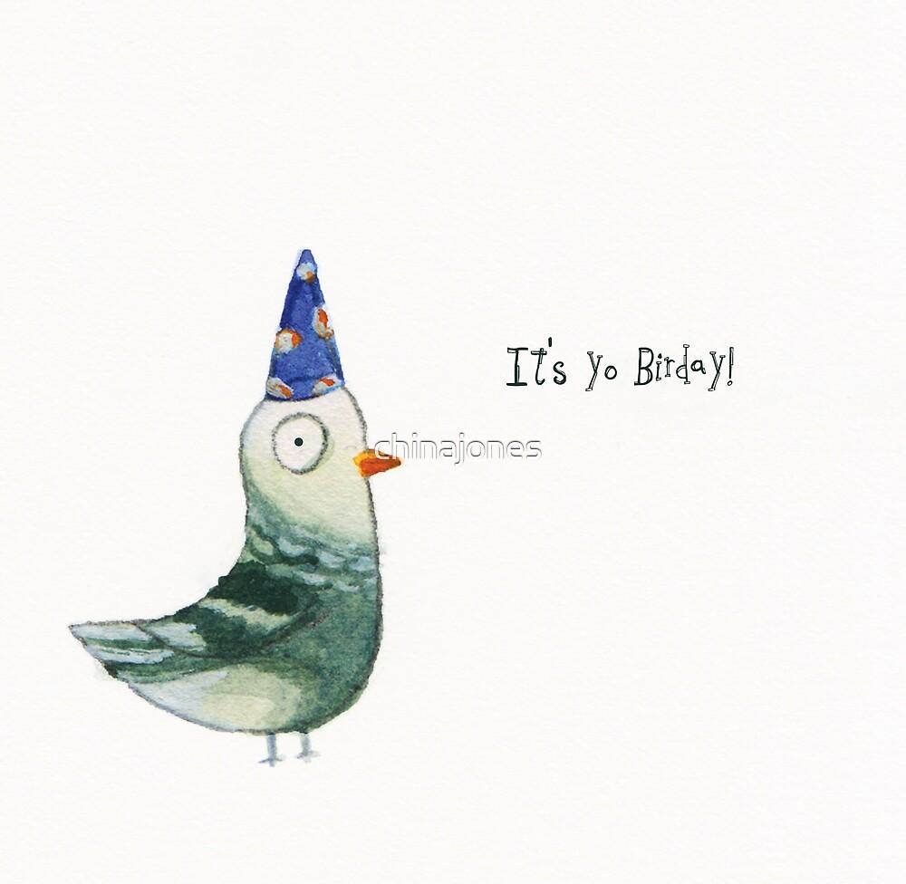 The Birday Pigeon by chinajones