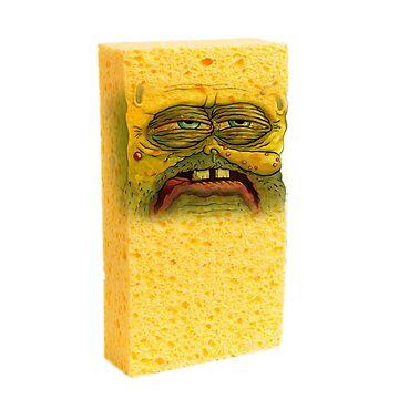 Yellow Sponge  by biibee