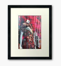 Mannequin Alone Framed Print