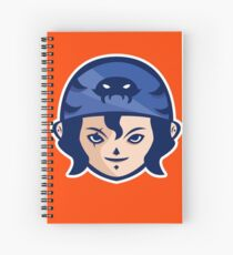 Galleon Vector Art Spiral Notebook