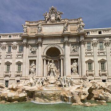 Fontana Di Trevi, Rome Italy by Mythos57