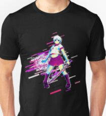 Moe most systems Eighties Retro Violet and Purple Unisex T-Shirt