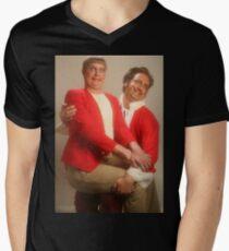 Tim and Eric  Men's V-Neck T-Shirt