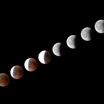 Phases of full eclipse of the Moon by LukeSzczepanski