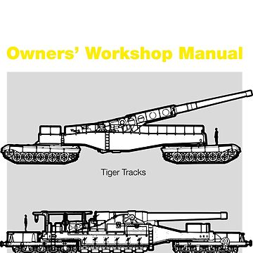 Owners Manual - Krupp K5 Railway Gun by moviemaniacs