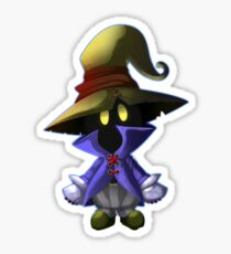 Vivi- The Black Mage Sticker
