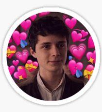 Gilbert Blythe Heart Meme #2 Sticker