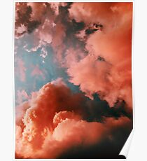 RED CLOUDS Poster
