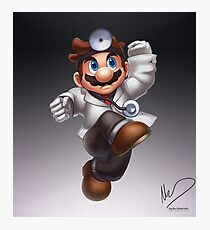 Dr. Mario Photographic Print