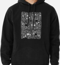 Serious Circuitry Pullover Hoodie