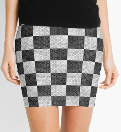 Lissajous VI Mini Skirt