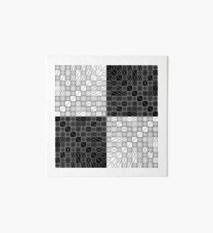 Lissajous VI Art Board Print