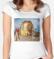 Astroworld Women's Fitted Scoop T-Shirt