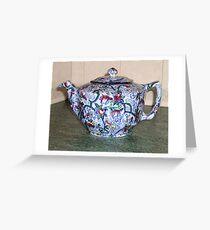 Ringtons Teapot 1930s Greeting Card