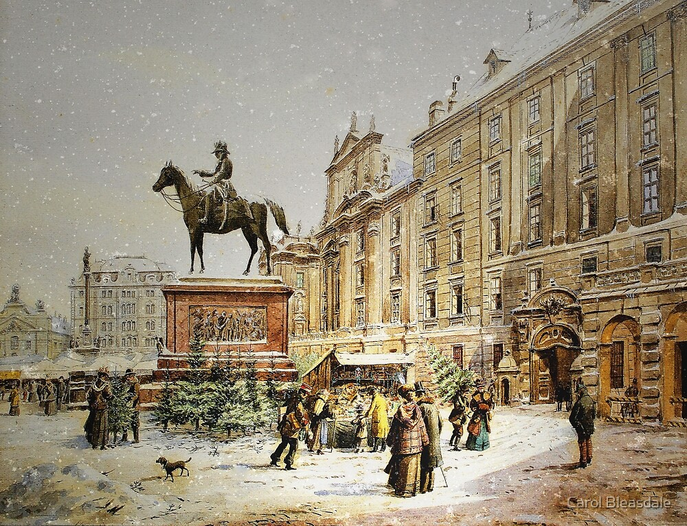 Austrian Christmas Market by Carol Bleasdale