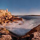Hornby Lighthouse, Sydney by Erik Schlogl