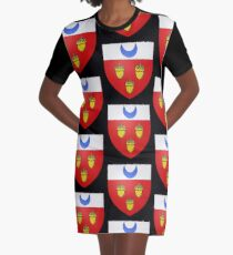 French France Coat of Arms 16403 Blason fr loche Graphic T-Shirt Dress
