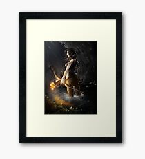 A Survivor is born Framed Print