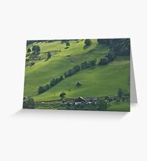 Schladming . Styria . Austria . Wonderful Remembers Never Fade. Greeting Card