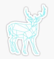 Hand drawn deer design Sticker