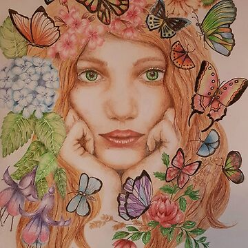 Butterfly heaven  by atouchofcanvas